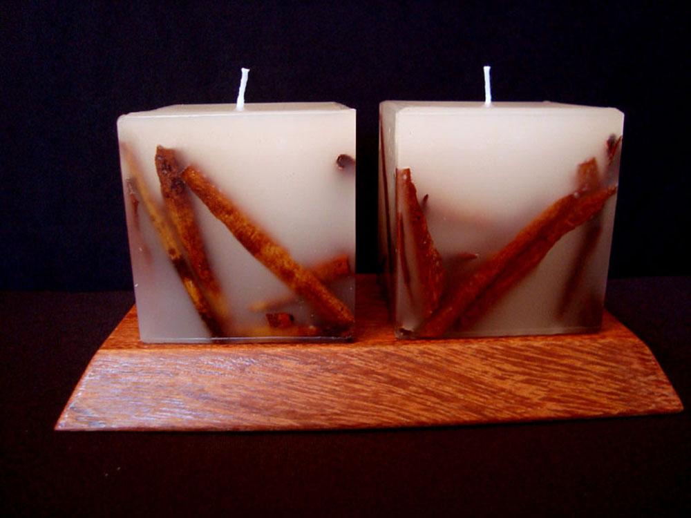 velas decoradas para natal dimetro 6cm essencialart elo7 - Velas Decoradas