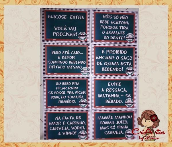 Frases Engraçadas Para Chá Bar No Elo7 Criartes By Leane 446f6f