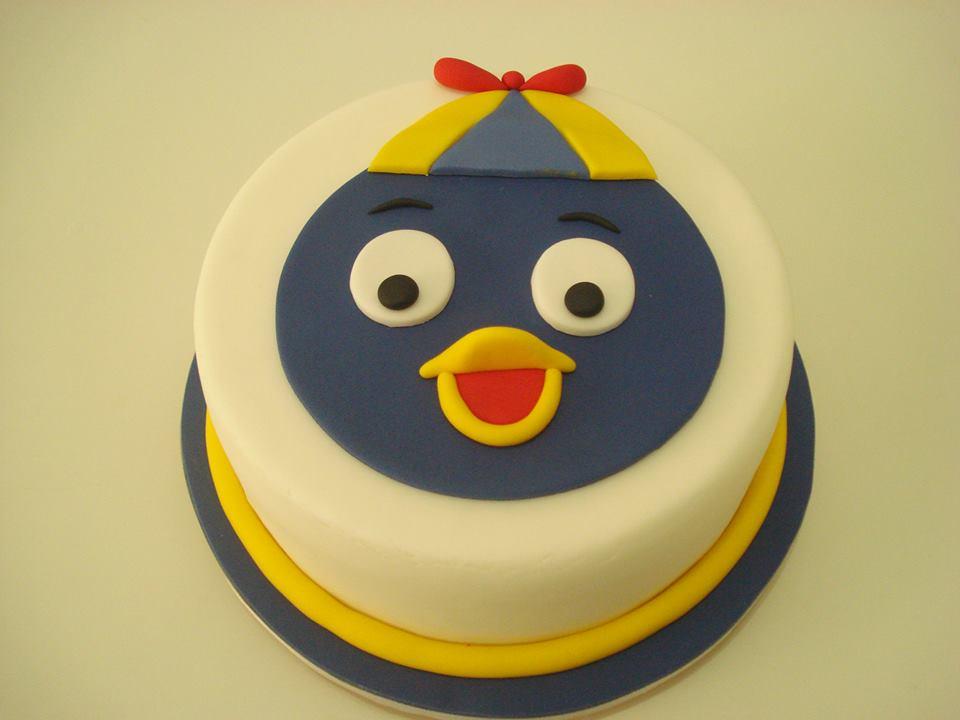 Resultado de imagem para festa infantil backyardigans bolo