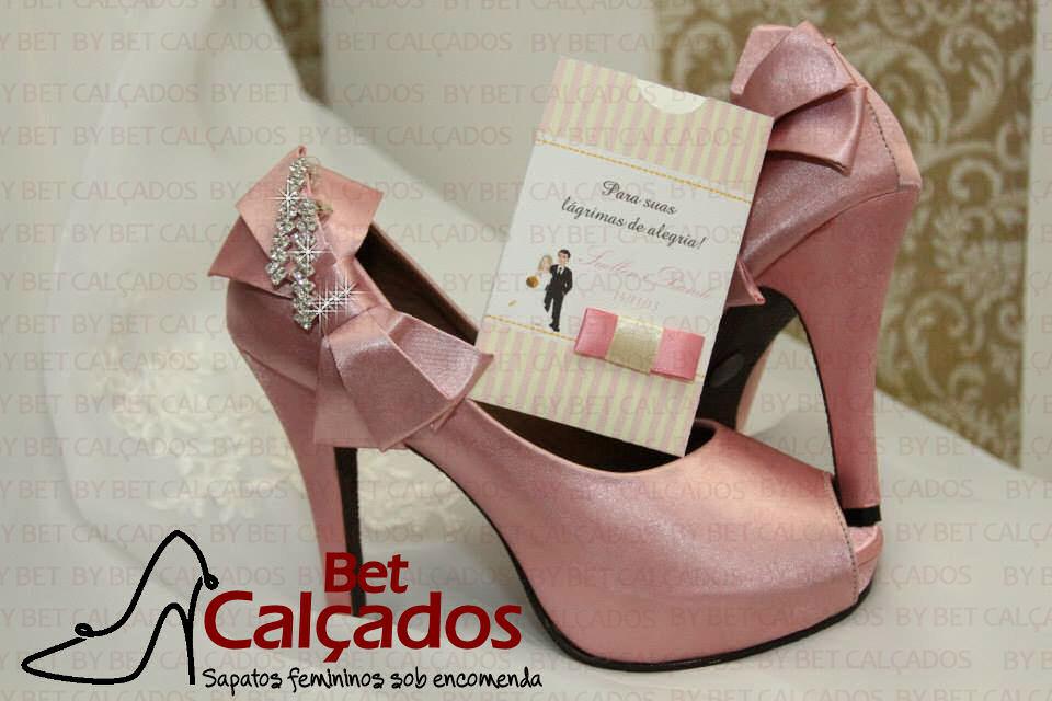 565596a508b0 Sapato 010 pink bico fechado no Elo7 | Bet Calçados (73FCD5)