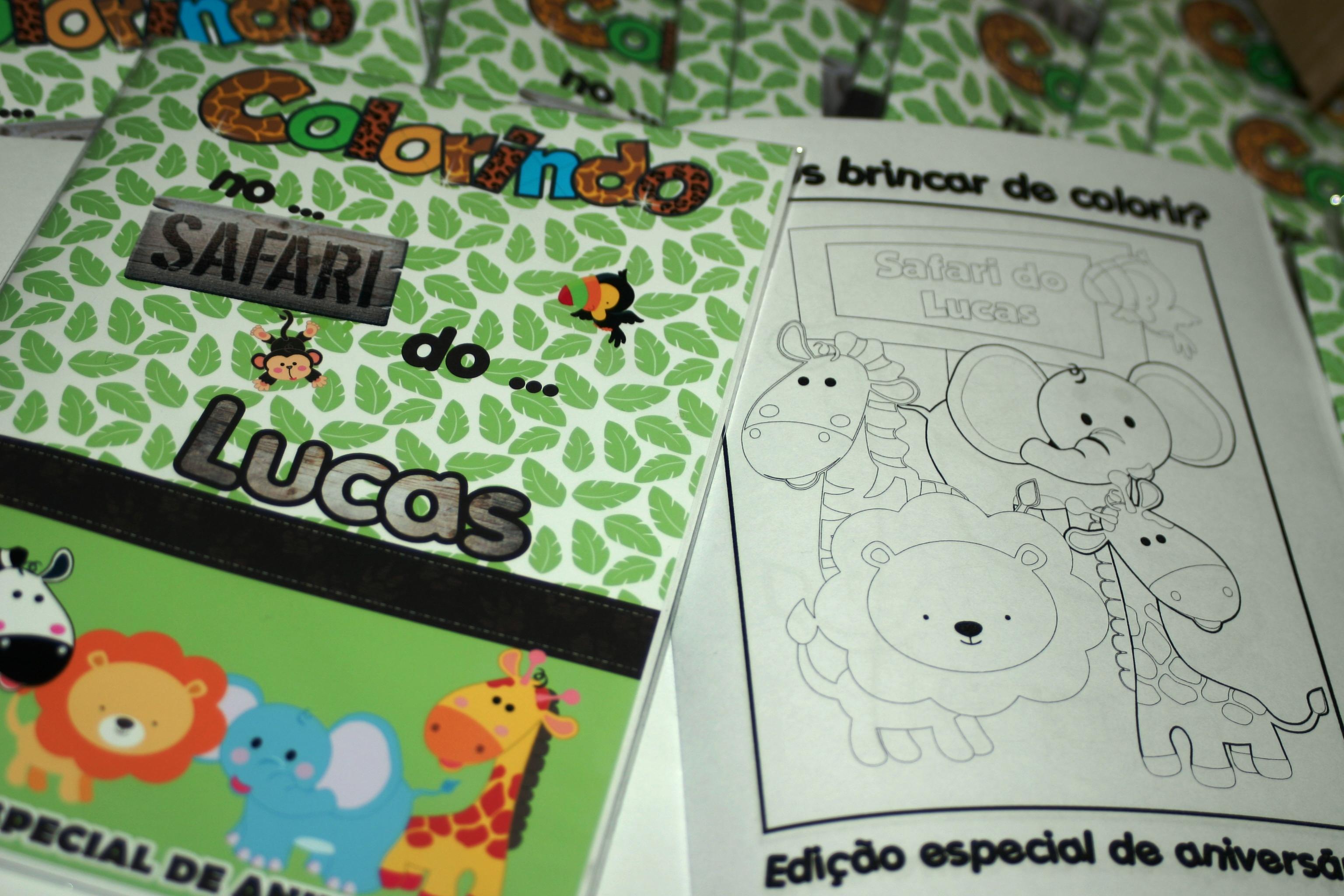 Revista Colorir Safari No Elo7 Seculus Lembrancinhas 44959d