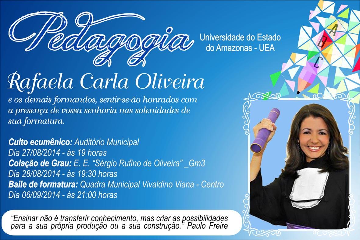 Convites Pedagogia Elo7
