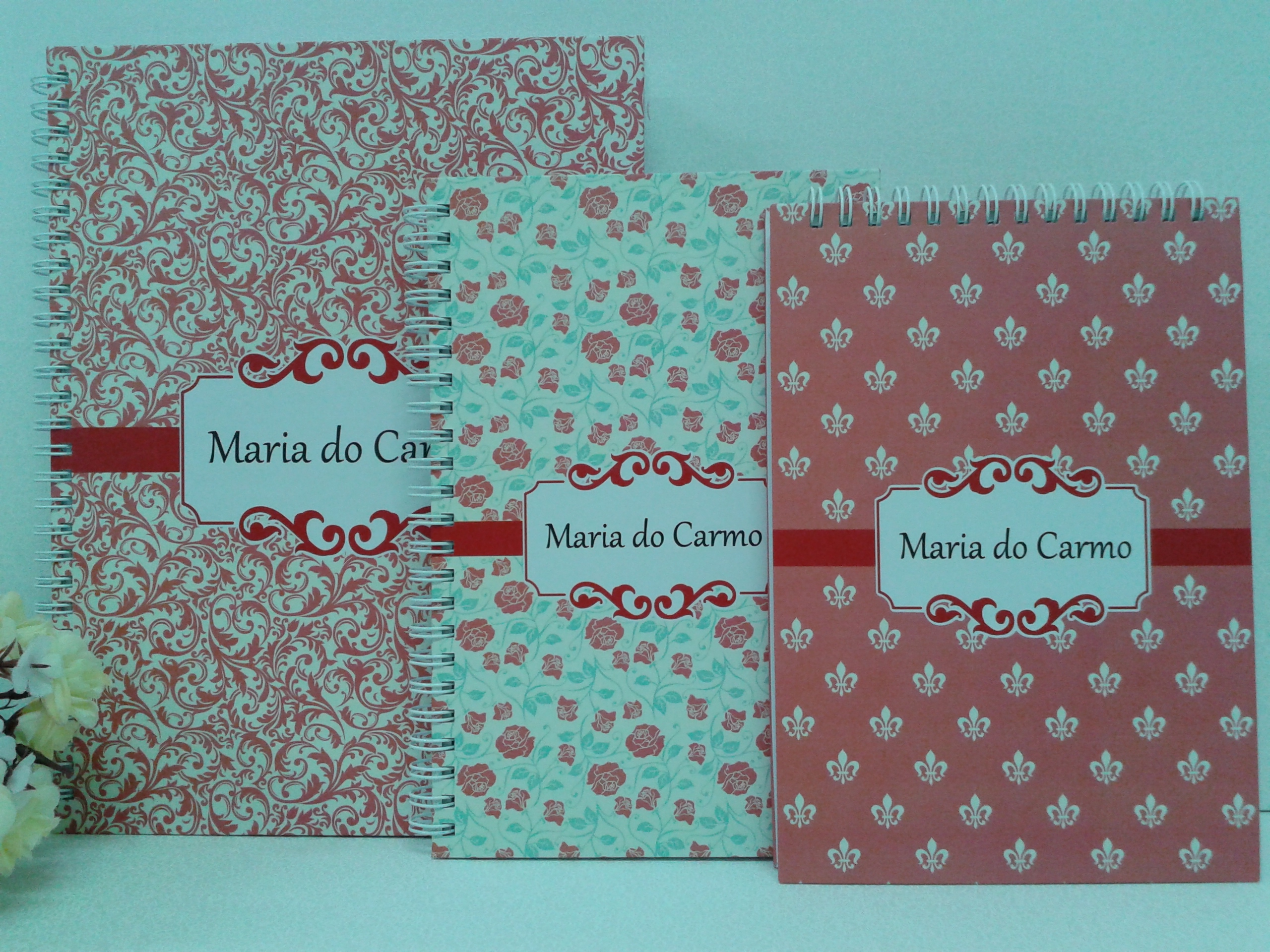 Super Cadernos Personalizados no Elo7 | Mimos e Ternura (44E461) UB28