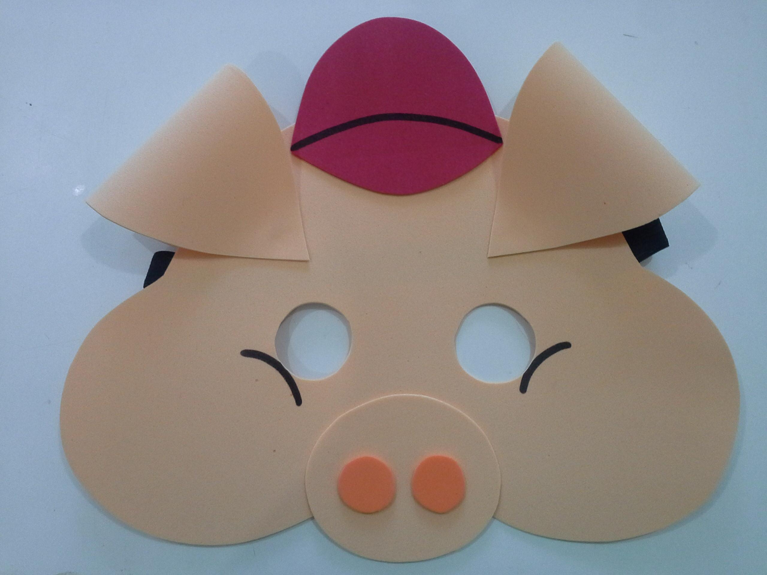 mascara-3-porquinhos-mascara-3-porquinhos mascara-3-porquinhos-mascara ...