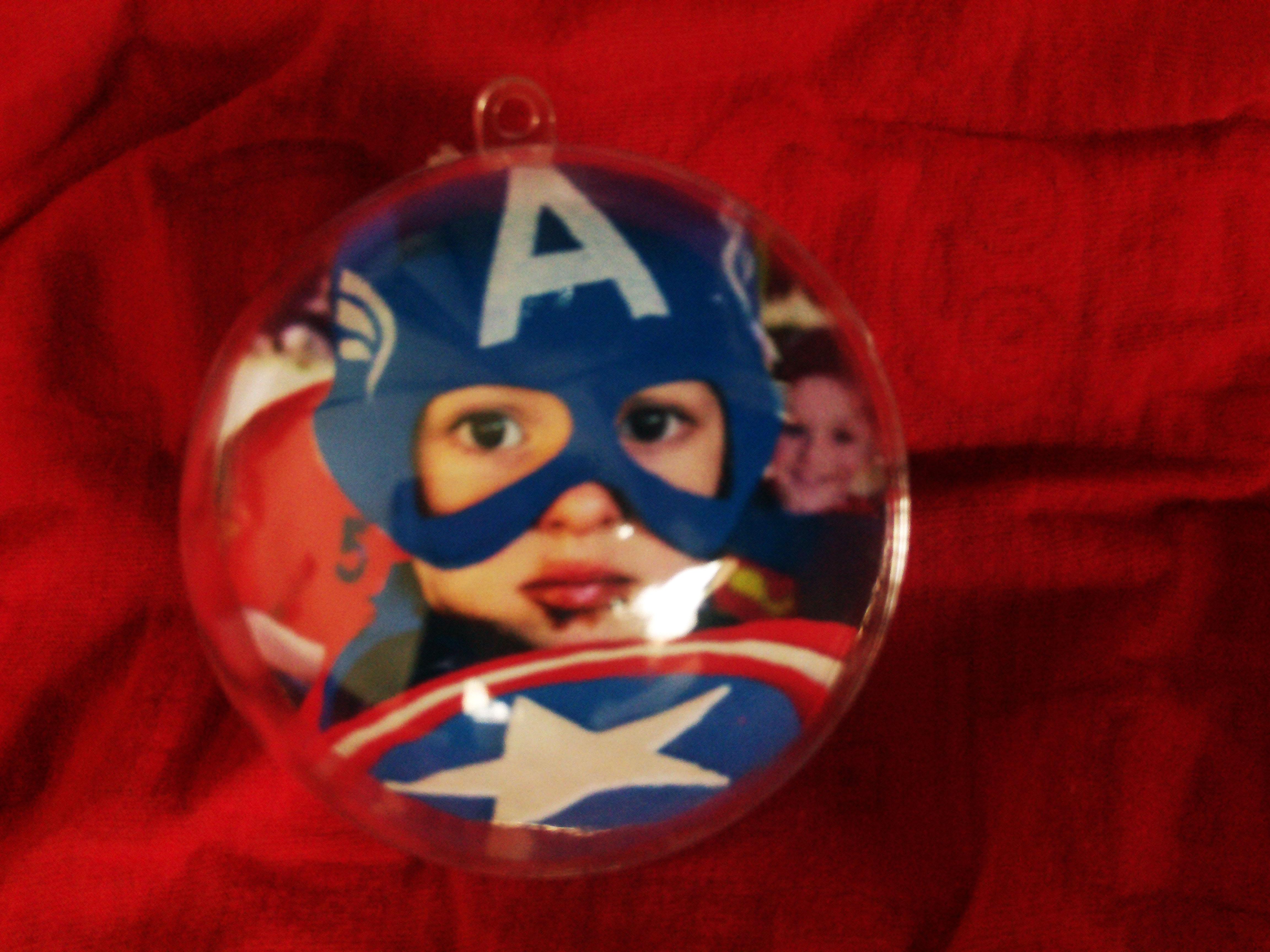 Bolas de natal personalizadas mv artes cia elo7 - Bolas de cristal personalizadas ...