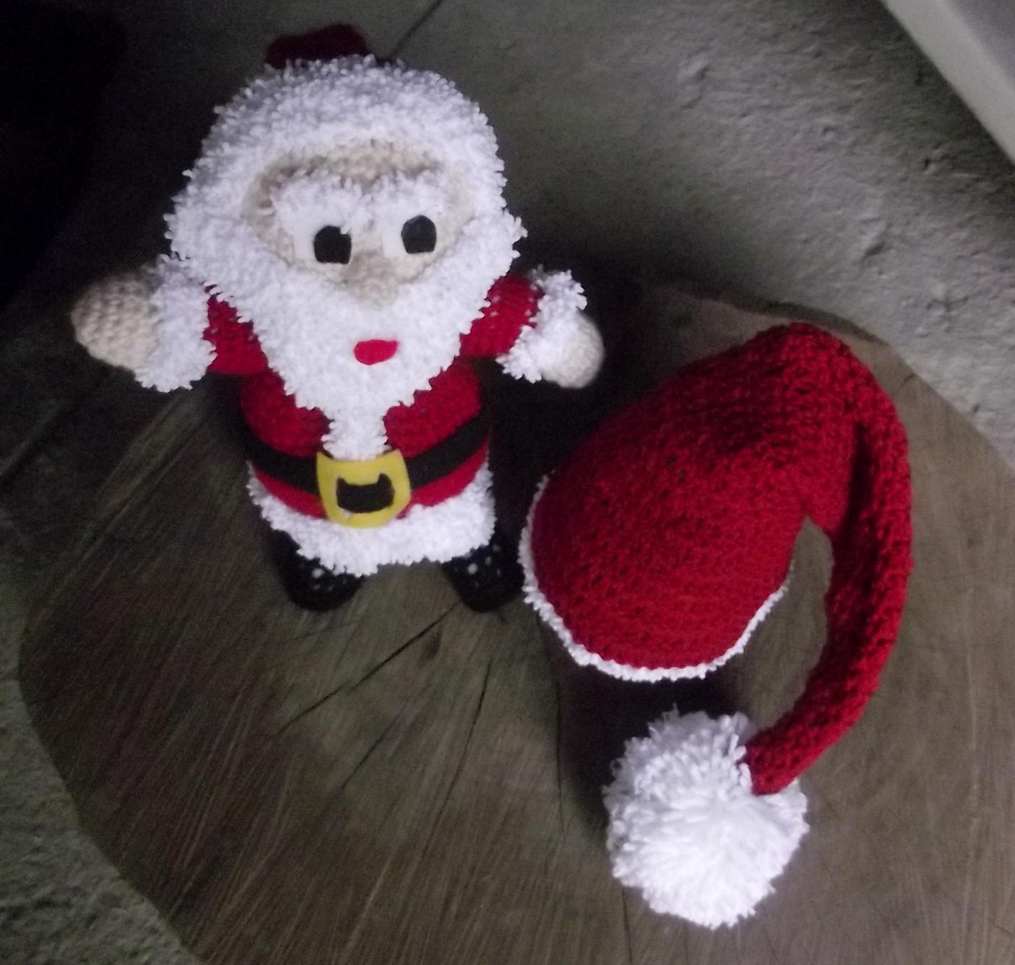 Gorro do Papai Noel  6b617f8780e