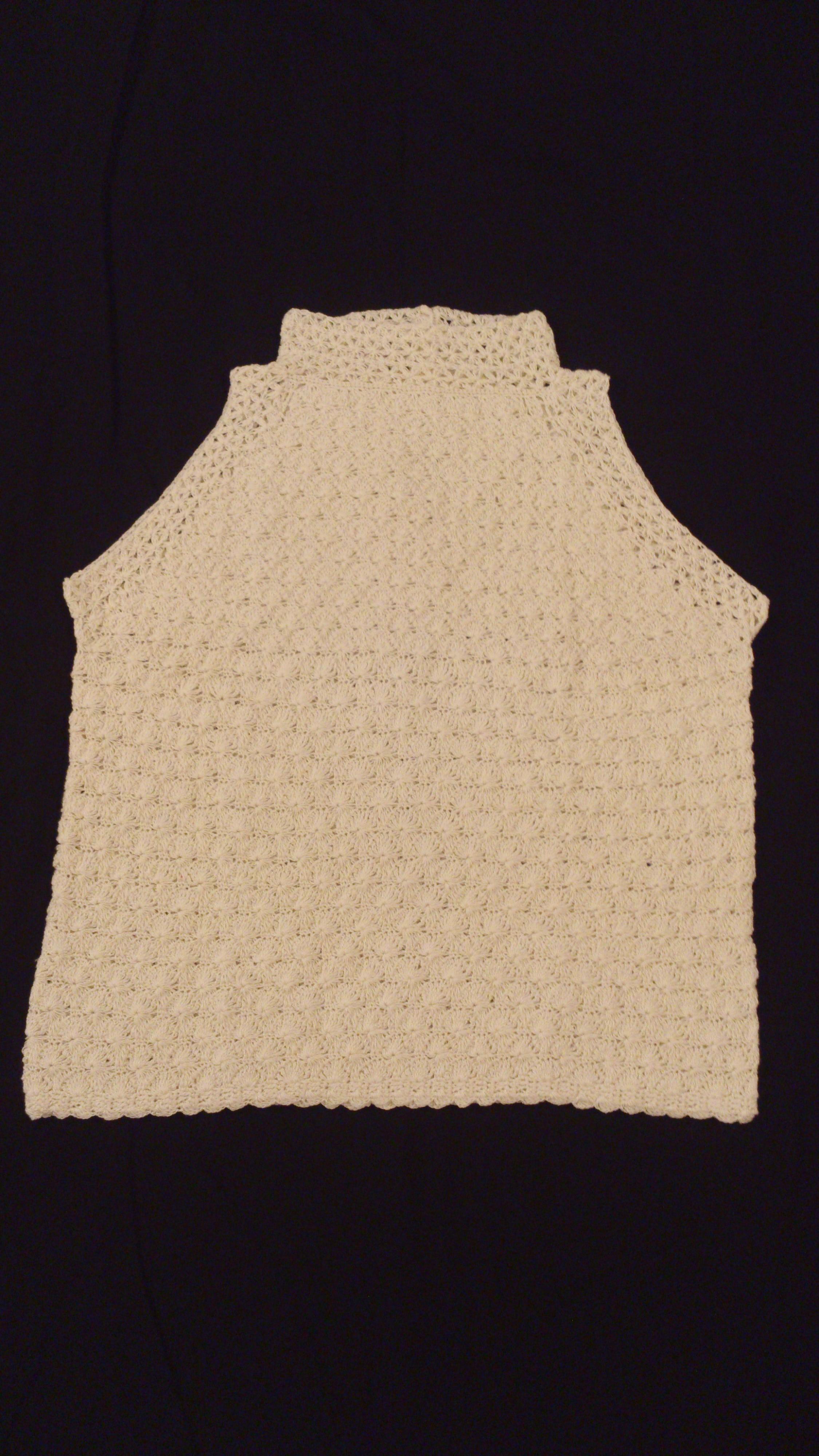 3eb3a814b1 Blusa crochê - Coleção de Ateliê Coisas de Mãe e Filha ( butanta)