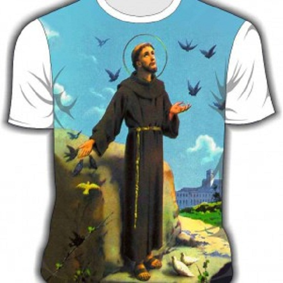 76f9479f84 Camiseta Santo Antonio cod. 223 no Elo7