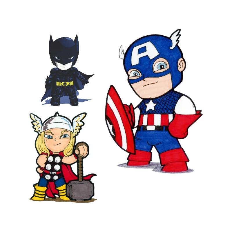 Adesivos Super Herois Kids No Elo7 C3 Brasil Adesivos