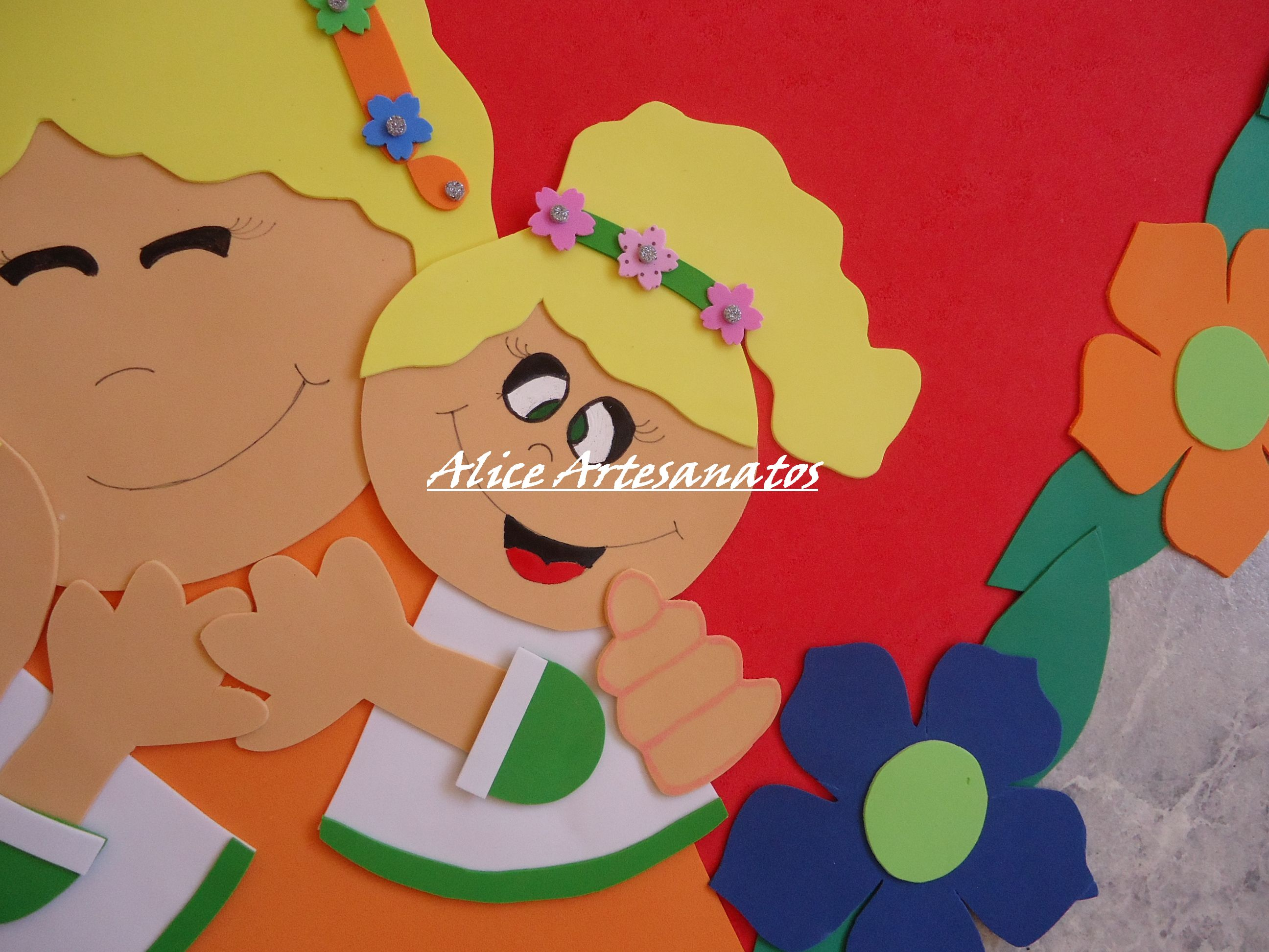 Painel Comemorativo Dia Das Mães No Elo7 Alice Artesanatos 476ef4