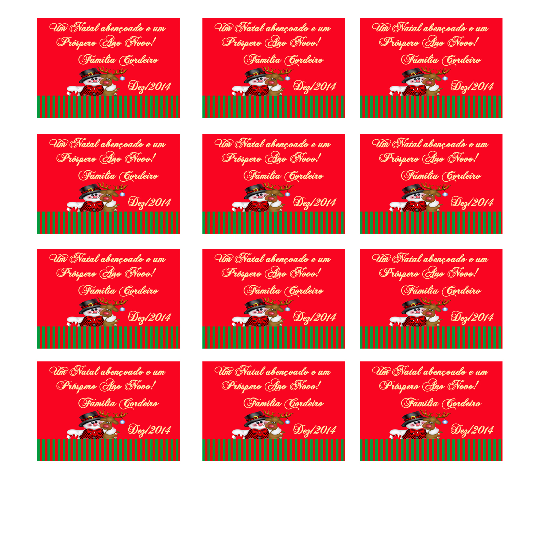 Aparador Sala De Jantar ~ Tag Digital Para imprimir Natal ANABELLE ARTE E CRIA u00c7 u00d5ES Elo7