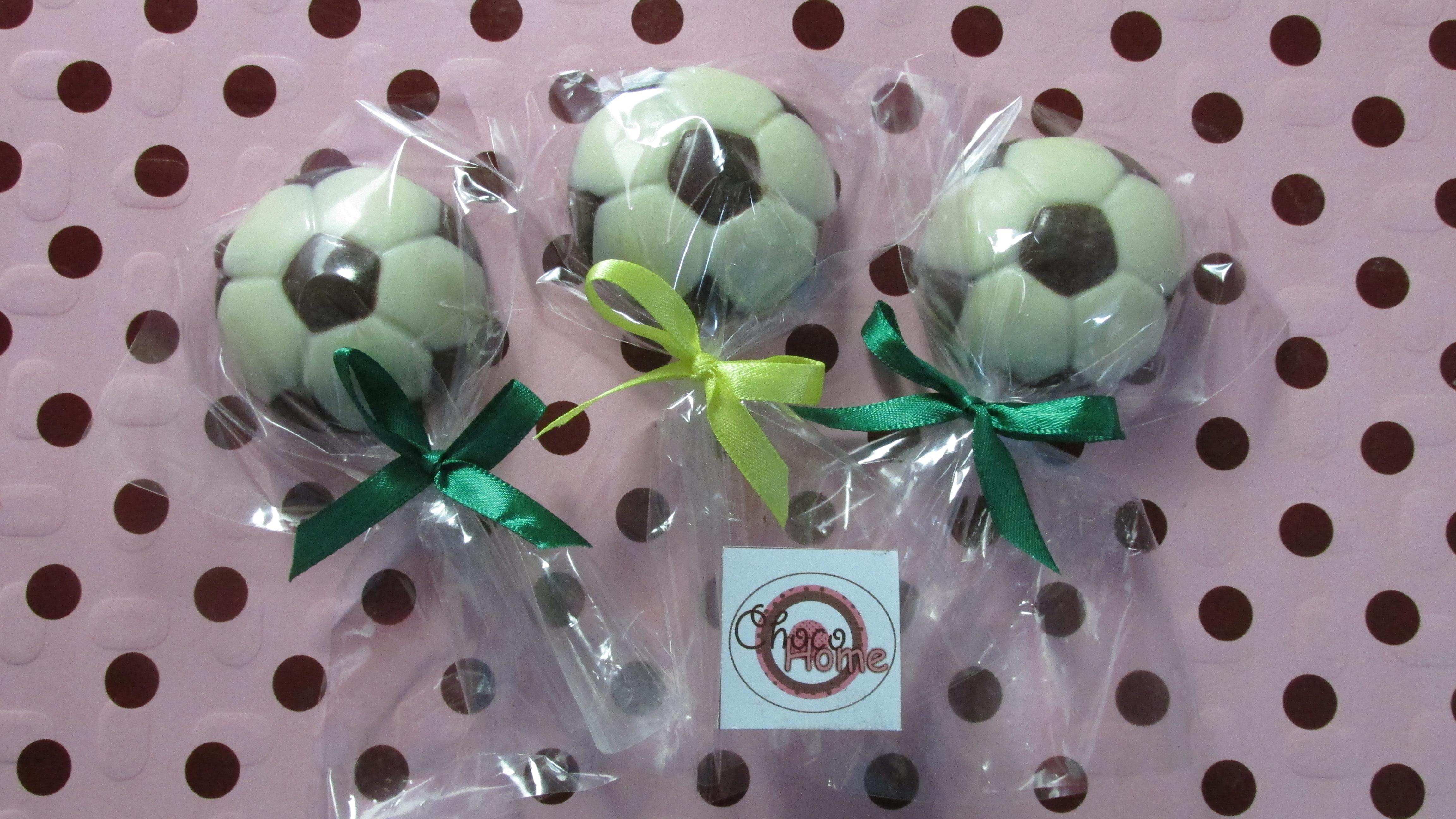 b8109faed Bola de Futebol de Chocolate