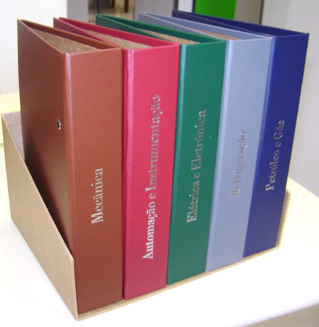 470471286fb Pasta Fichário A5 para planner ou arquivo - Diversas cores