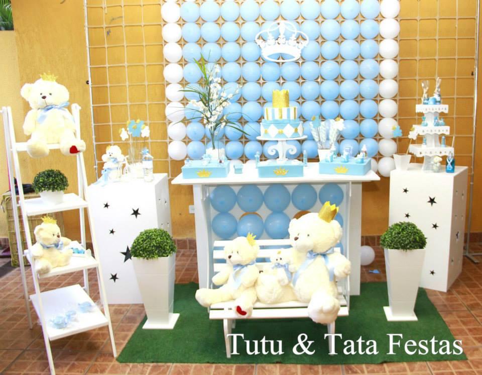 Decoraç u00e3o de Chá de Beb u00ea TUTU&TATA FESTAS Elo7 -> Decoração Cha De Bebe Tema Urso