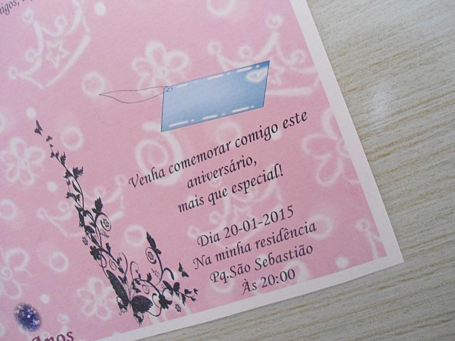 Convites Ibiza De 15 Anos Coroa Lilás No Elo7 Ferraz Convites 489043