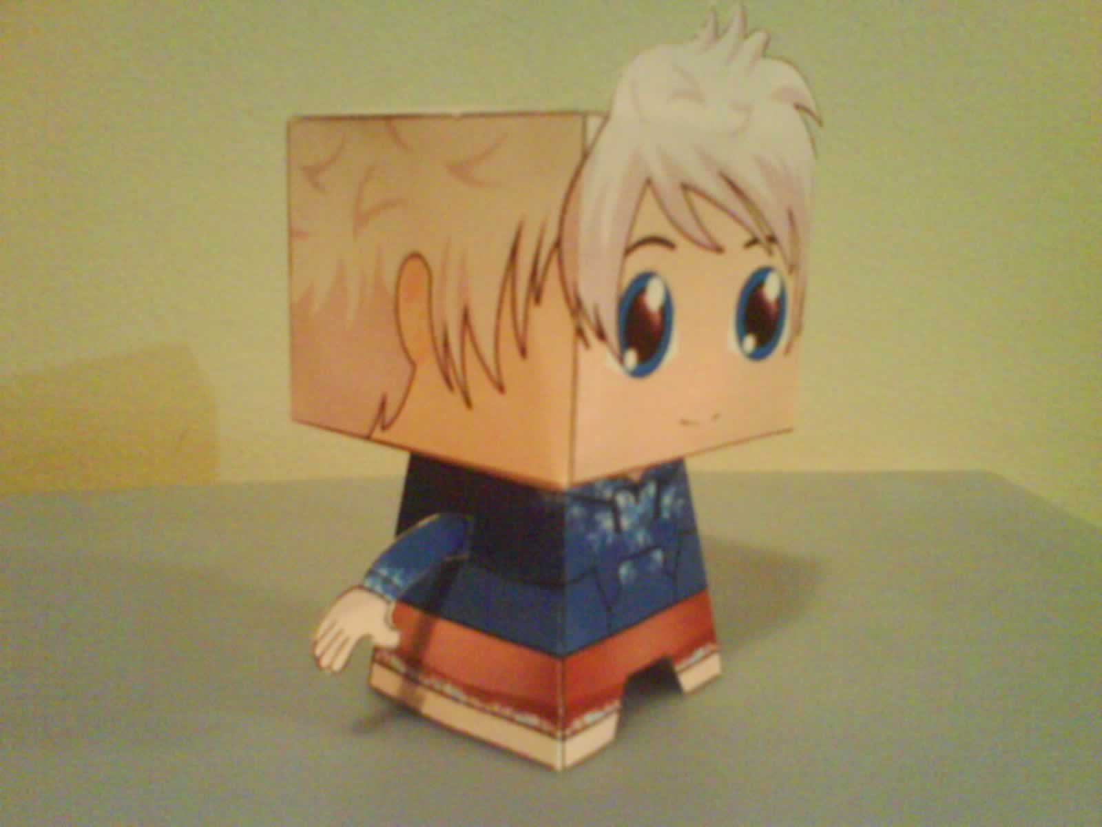 Paper Toy 3d Jack Frost Guardioes No Elo7 Zip Person 48e871