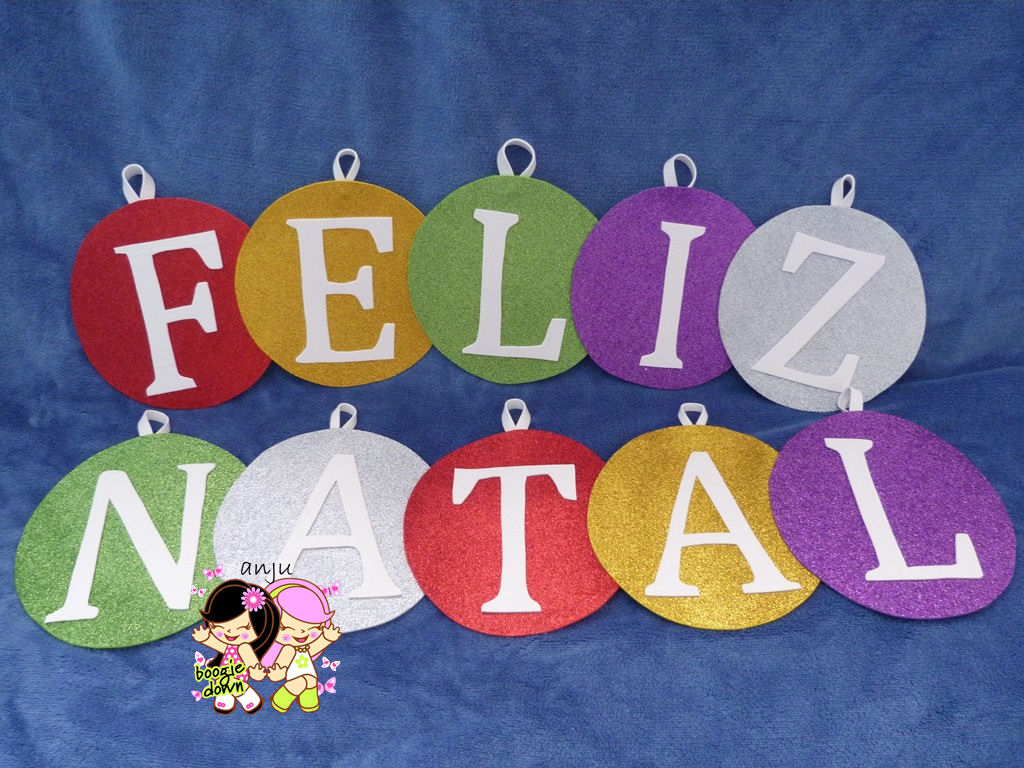 painel Feliz Natal (bolas) Andreia e July evarts Elo7 -> Decoração De Natal Para Loja Infantil