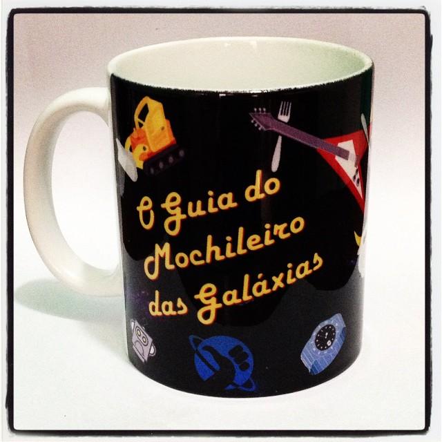 Caneca Guia Do Mochileiro Das Galaxias Frases Elo7