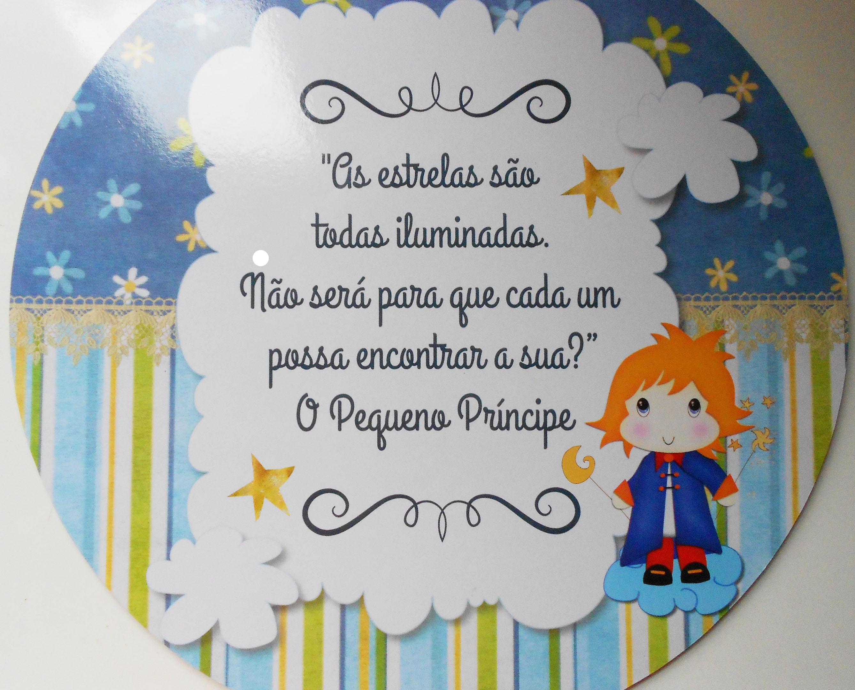 """Frases Do Pequeno Principe: Quadrinho """"O Pequeno Príncipe"""""""