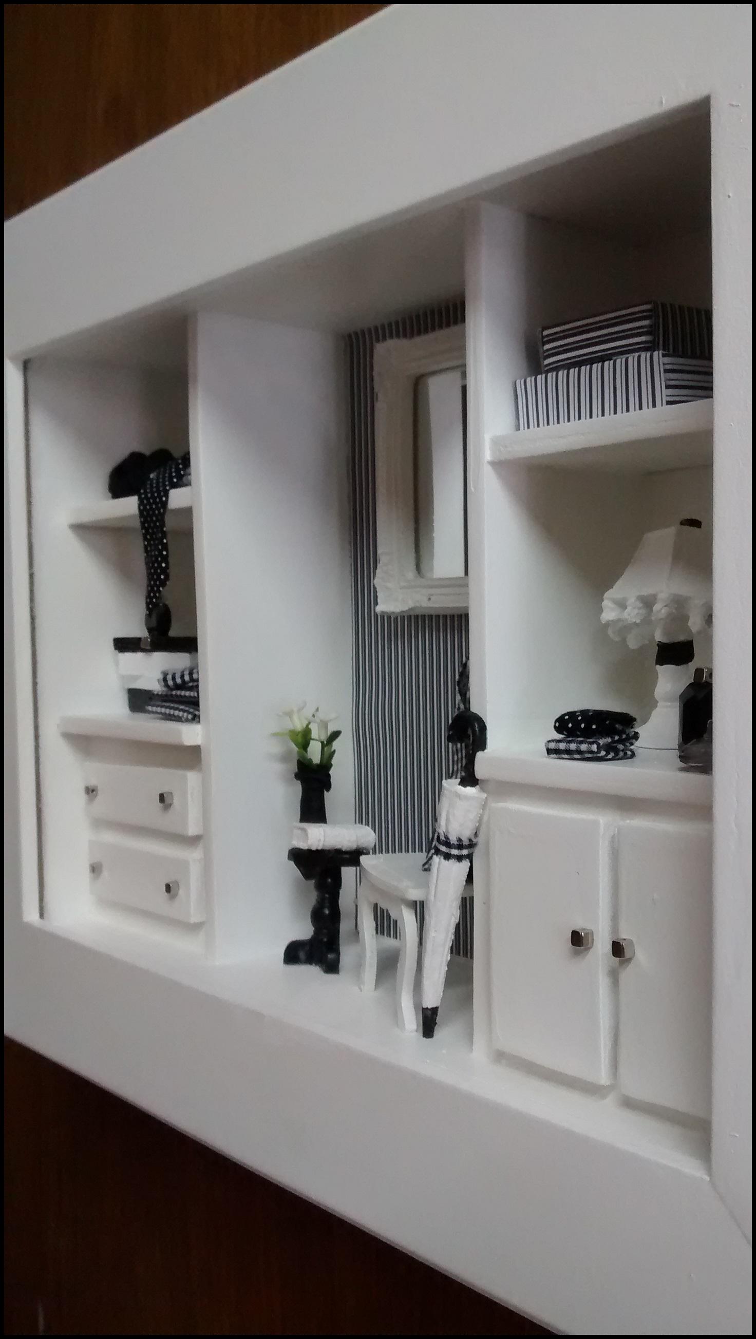 87838a443f73 Quadro Cenário - Closet Masculino no Elo7 | Atelier by Dreams (4977C1)