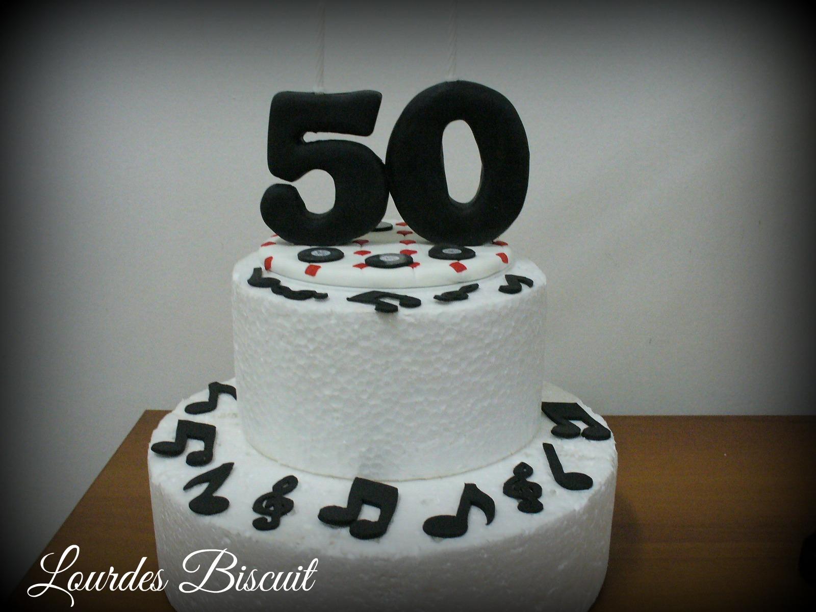 Topo De Bolo 50 Anos