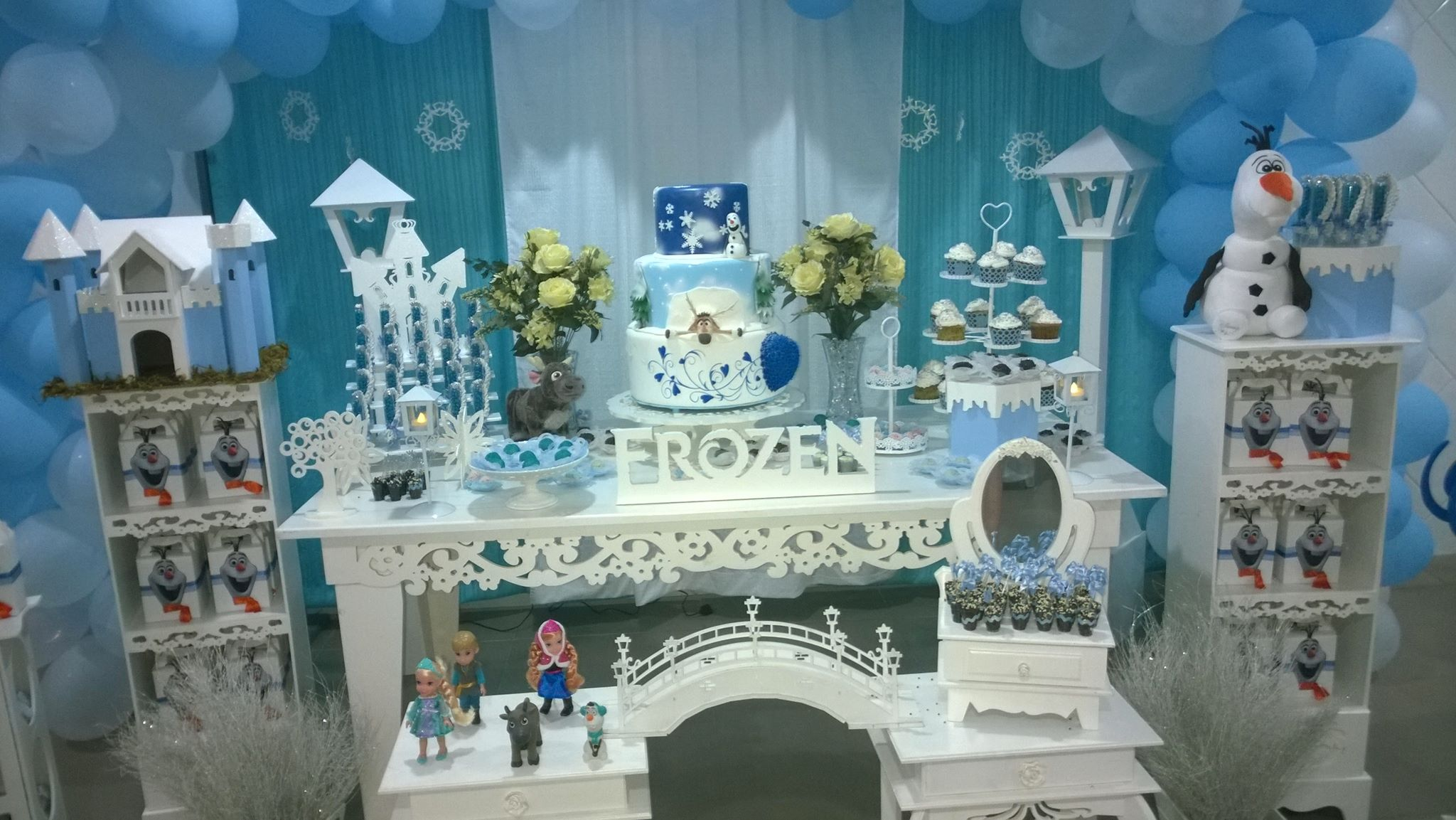 Imagens Frozen Uma Aventura Congelante Complete decoração frozen uma aventura congelante | mione festas | elo7