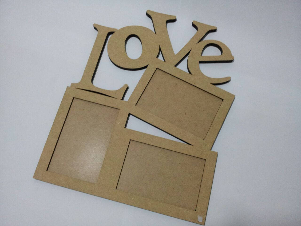 Porta retrato love mdf cru nomes e letras em mdf elo7 for Porta or