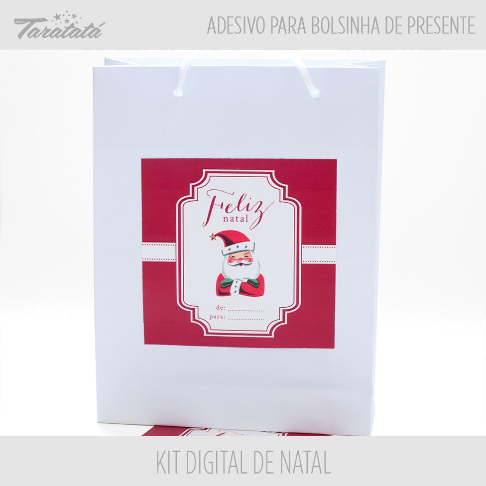 Armario Locker Metalico ~ Adesivo para Sacolinha de Natal Taratatá Papelaria Personalizada Elo7