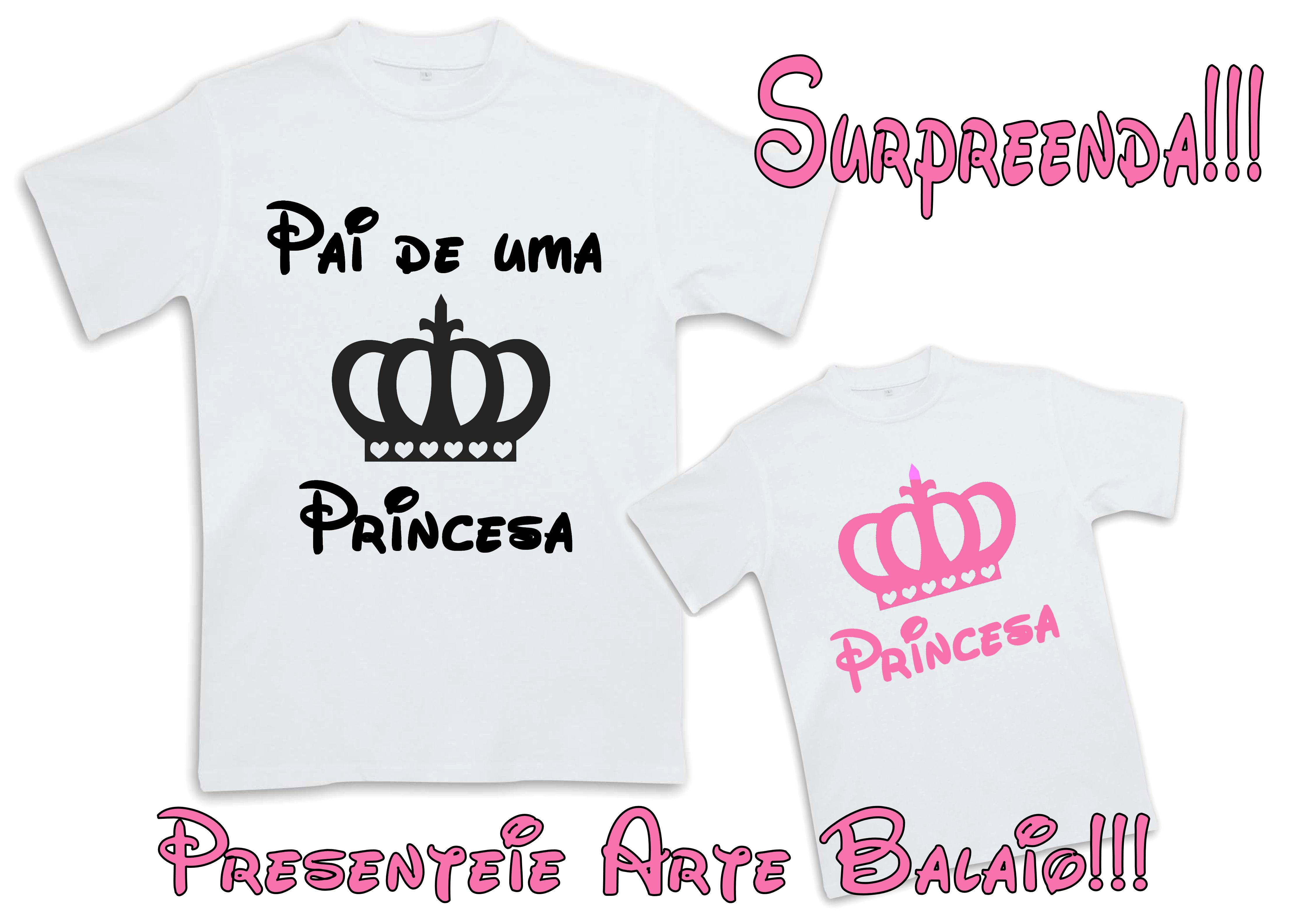 Pai De Duas Princesas Elo7