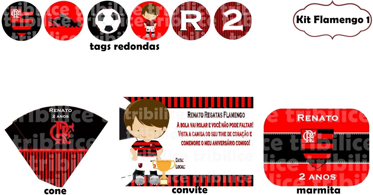 Kit Flamengo 1 No Elo7 Tribilice 4a679e