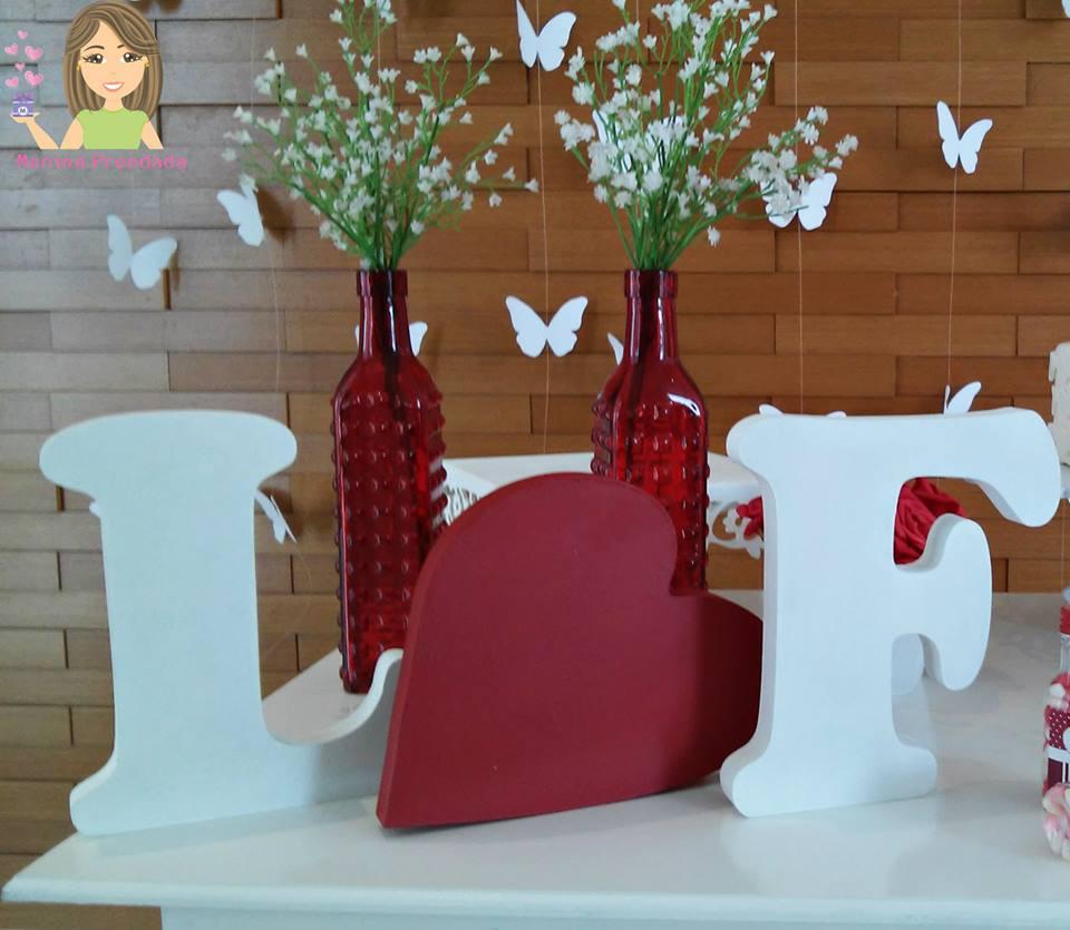 Decoraç u00e3o provençal Noivado Menina Prendada Festas Personalizadas Elo7 -> Decoração De Noivado