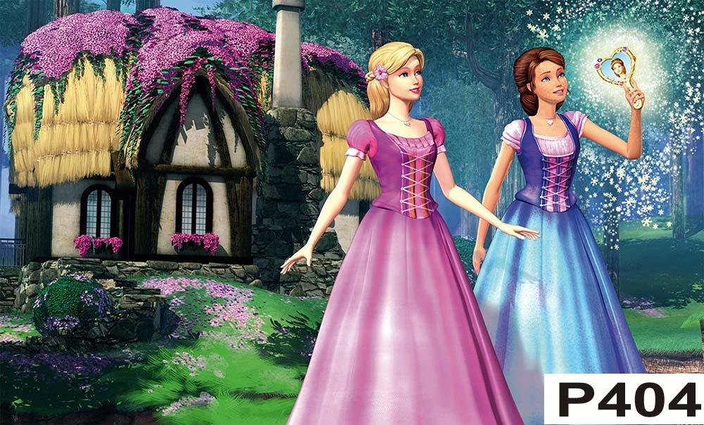abe648edc5 Painel Barbie Castelo de Diamante no Elo7
