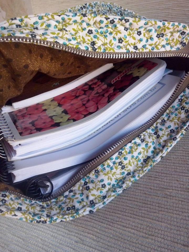 Bolsa De Tecido Da Coruja : Bolsa de tecido em patchwork da coruja ateli? dany