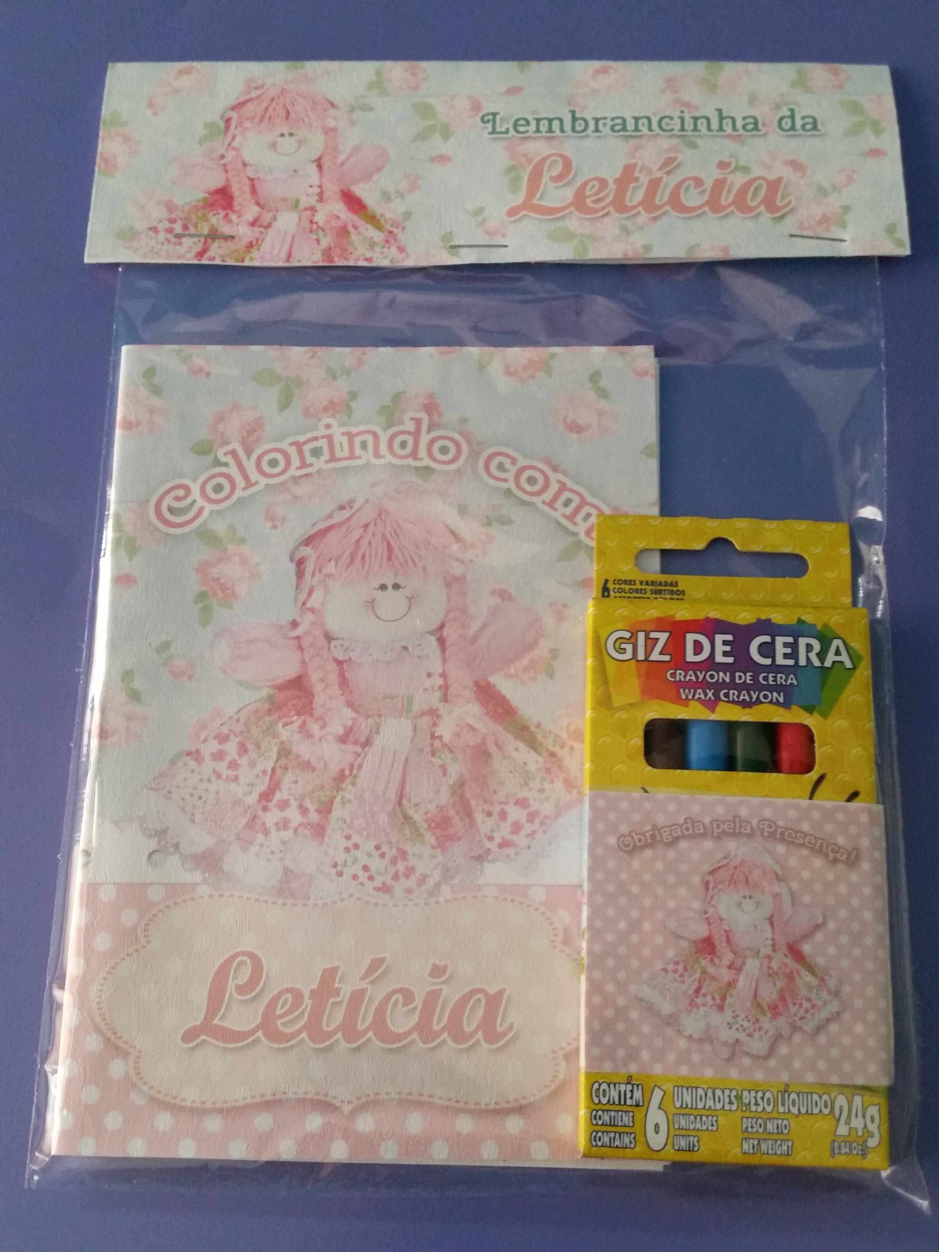 Mini Kit Colorir Boneca De Pano No Elo7 By Lila Festas 4b4c85