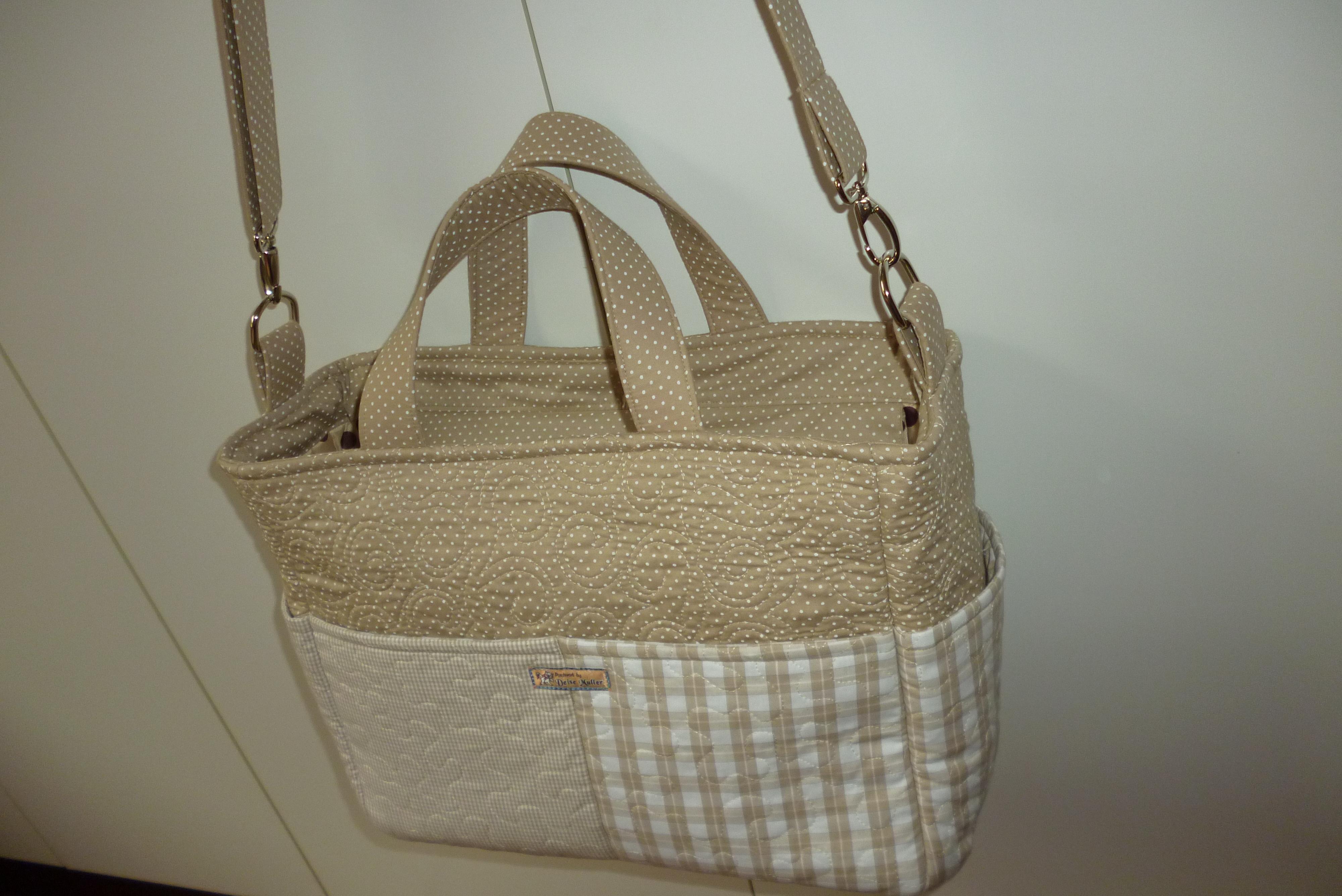 Bolsa De Tecido Bebe : Projeto bolsa para beb? patchwork by deise muller elo