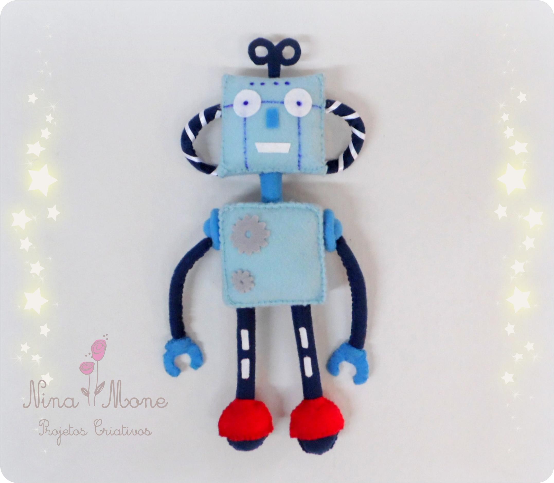 Top Robô Decoração para Quarto | Elo7 XO54