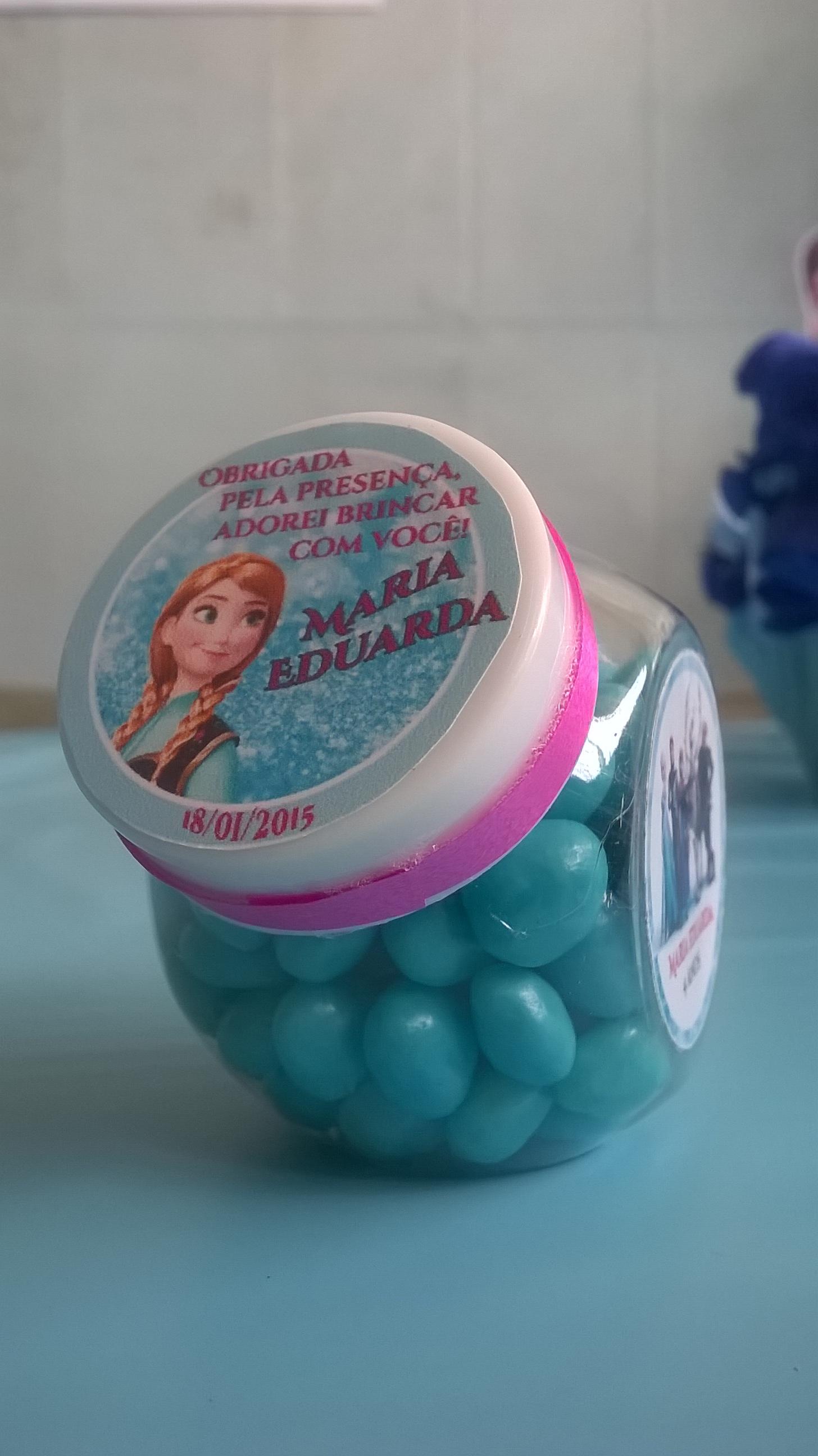 Lembrancinha Personalizada Frozen No Elo7 Pipoca Mel Artes 4bb0b7