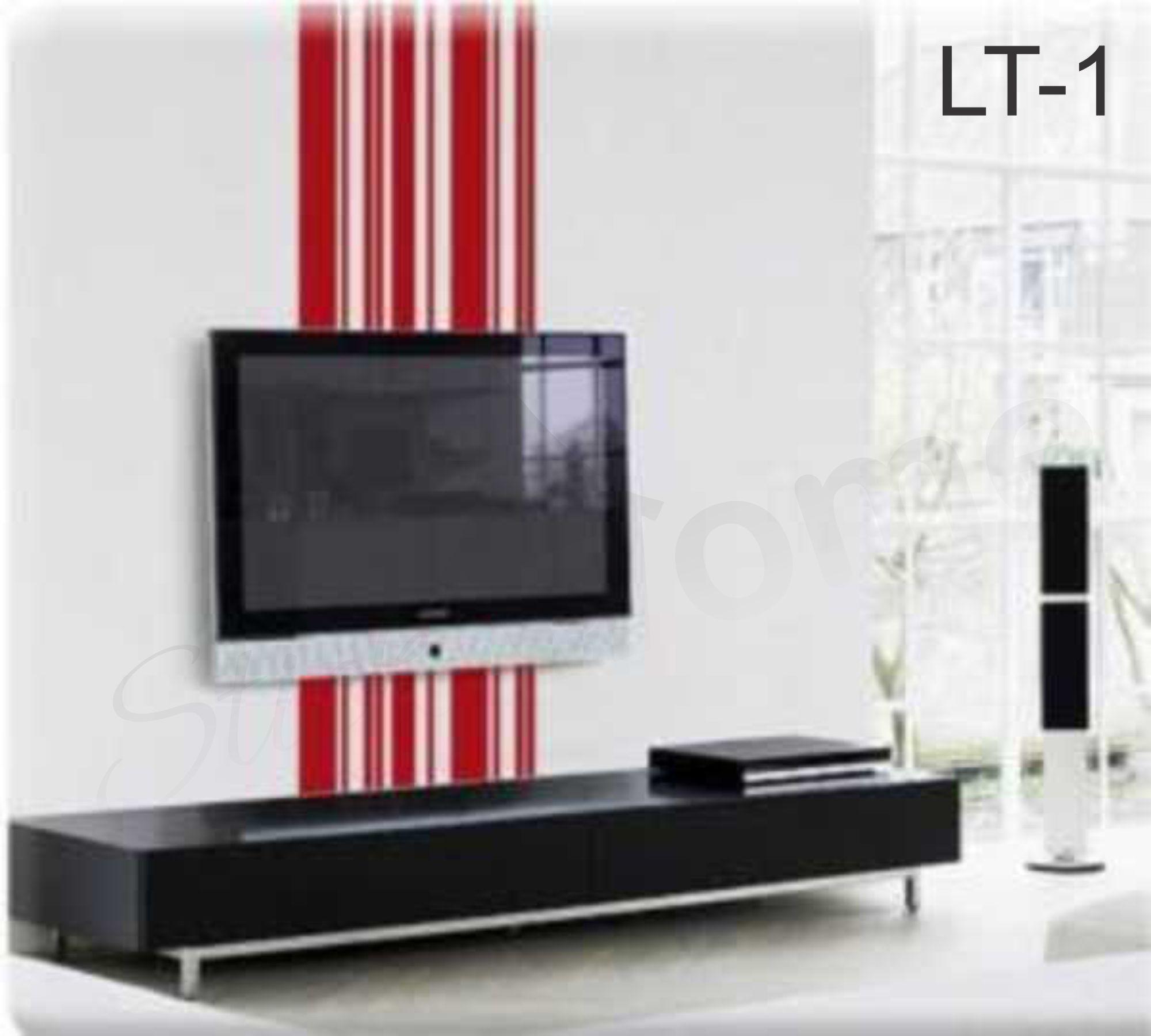 Adesivo De Parede Listras Gigantes Lt01 No Elo7 Stick Home  -> Adesivo Decorativo Na Parede De Tv