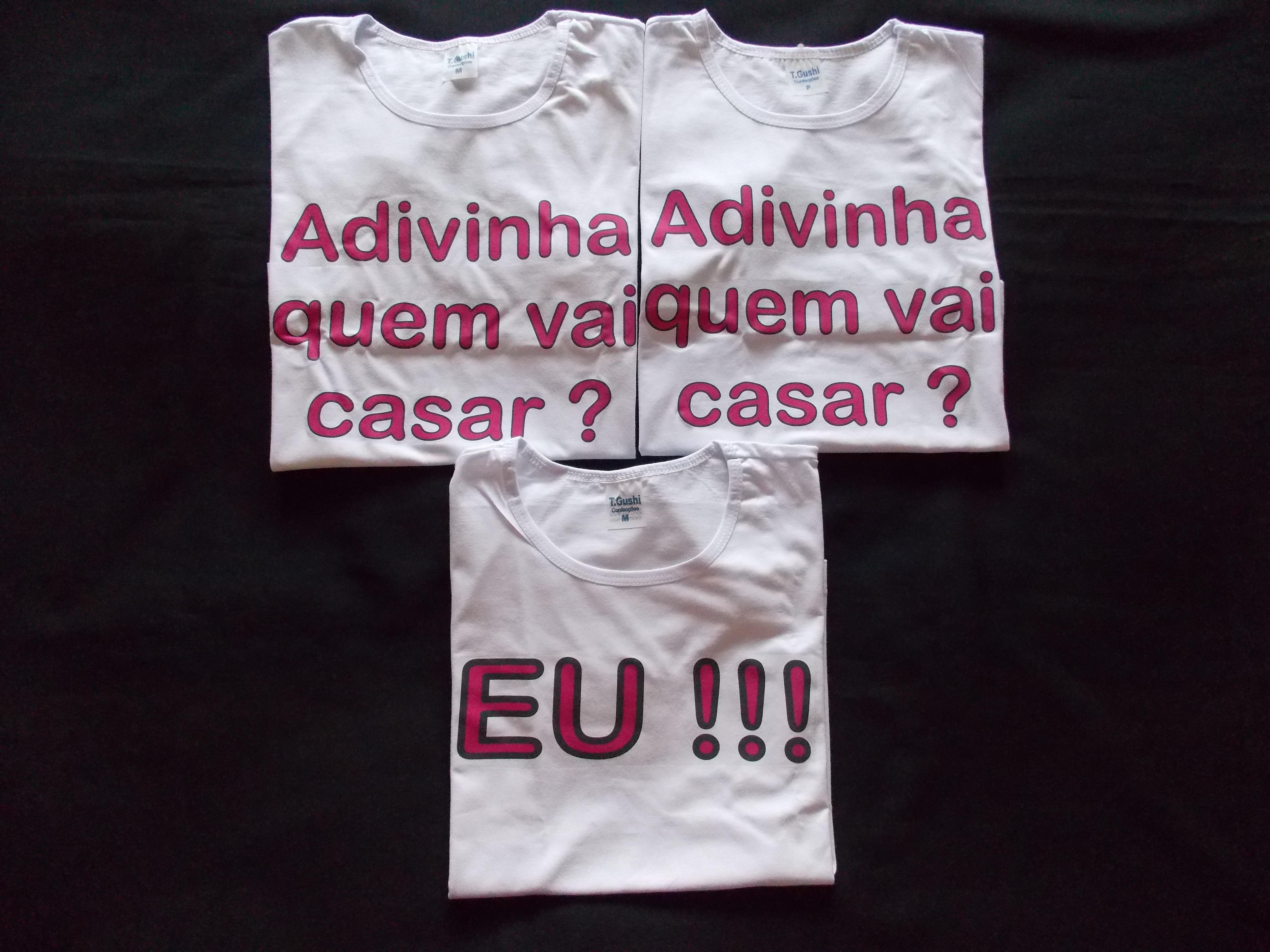 Camiseta Cha De Cozinha Elo7
