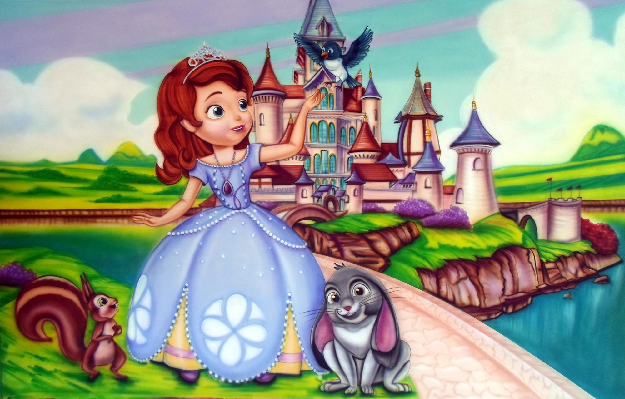 painel princesinha sofia no elo7 clim festas 55d0d1