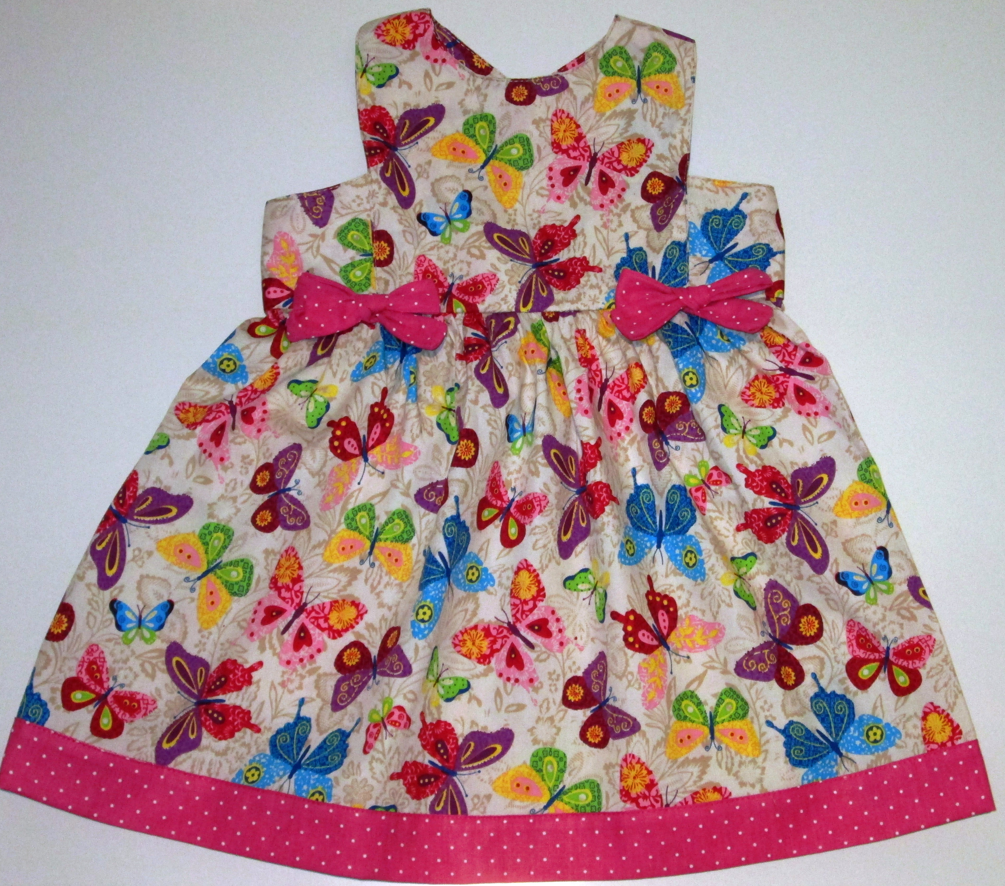 Vestido Infantil Borboletinha  12e40ba5b05b