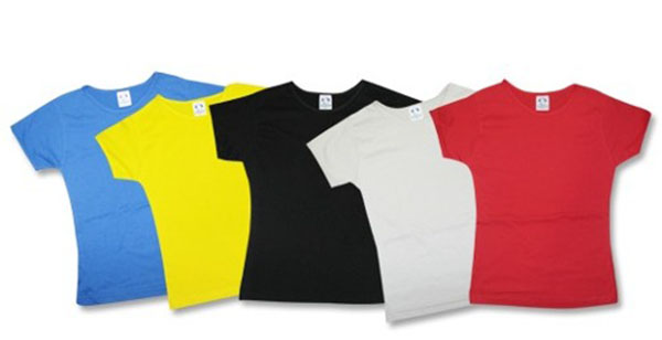 f2542a8904219 Camiseta poliester lisa coloridas no Elo7