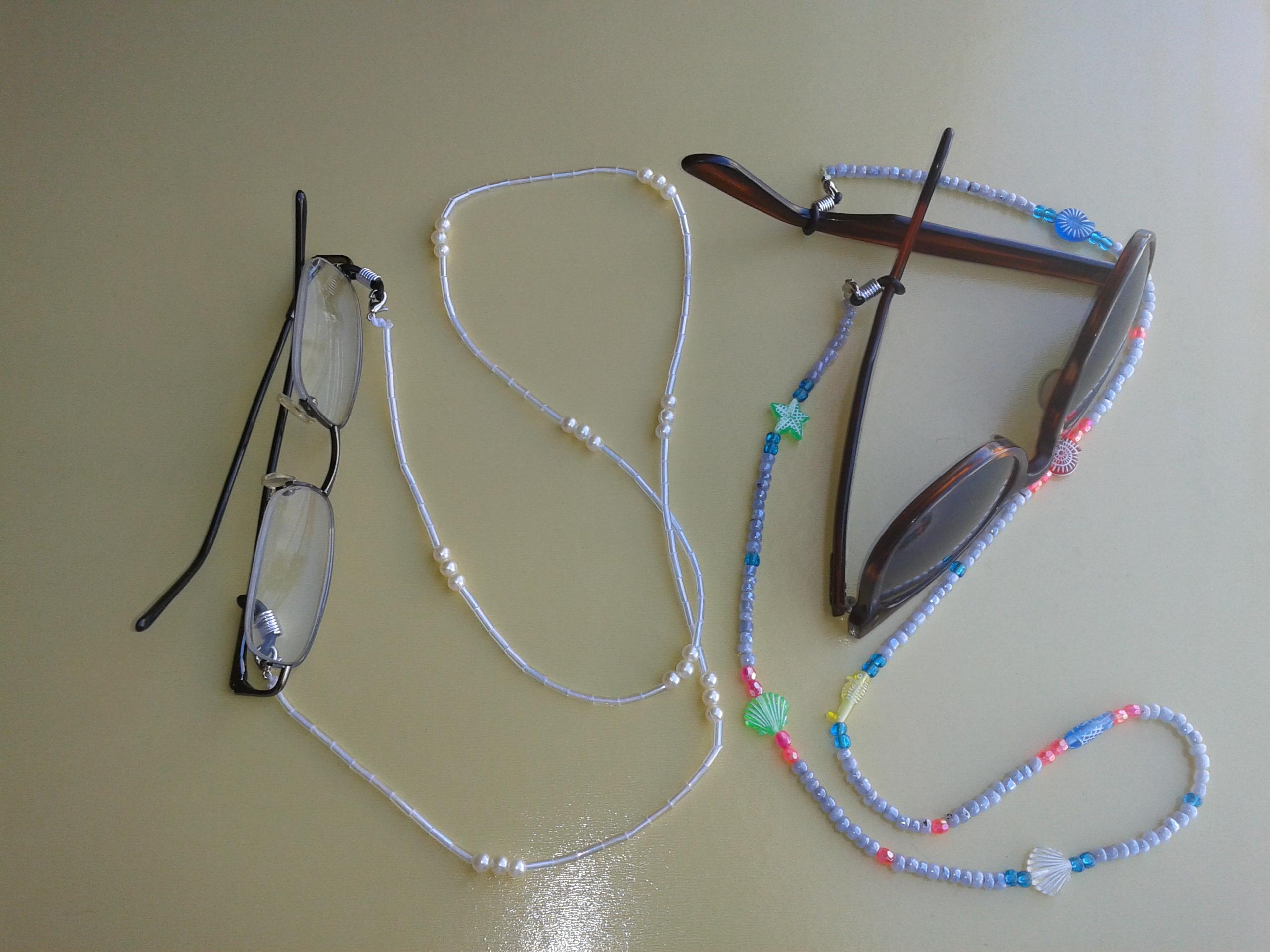 6d0b0dc31 Par de cordões para óculos no Elo7 | Bijus da Angel (4C5F18)