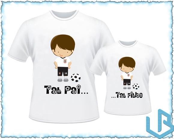 Kit 2 Camisetas Jogadores Dia Dos Pais