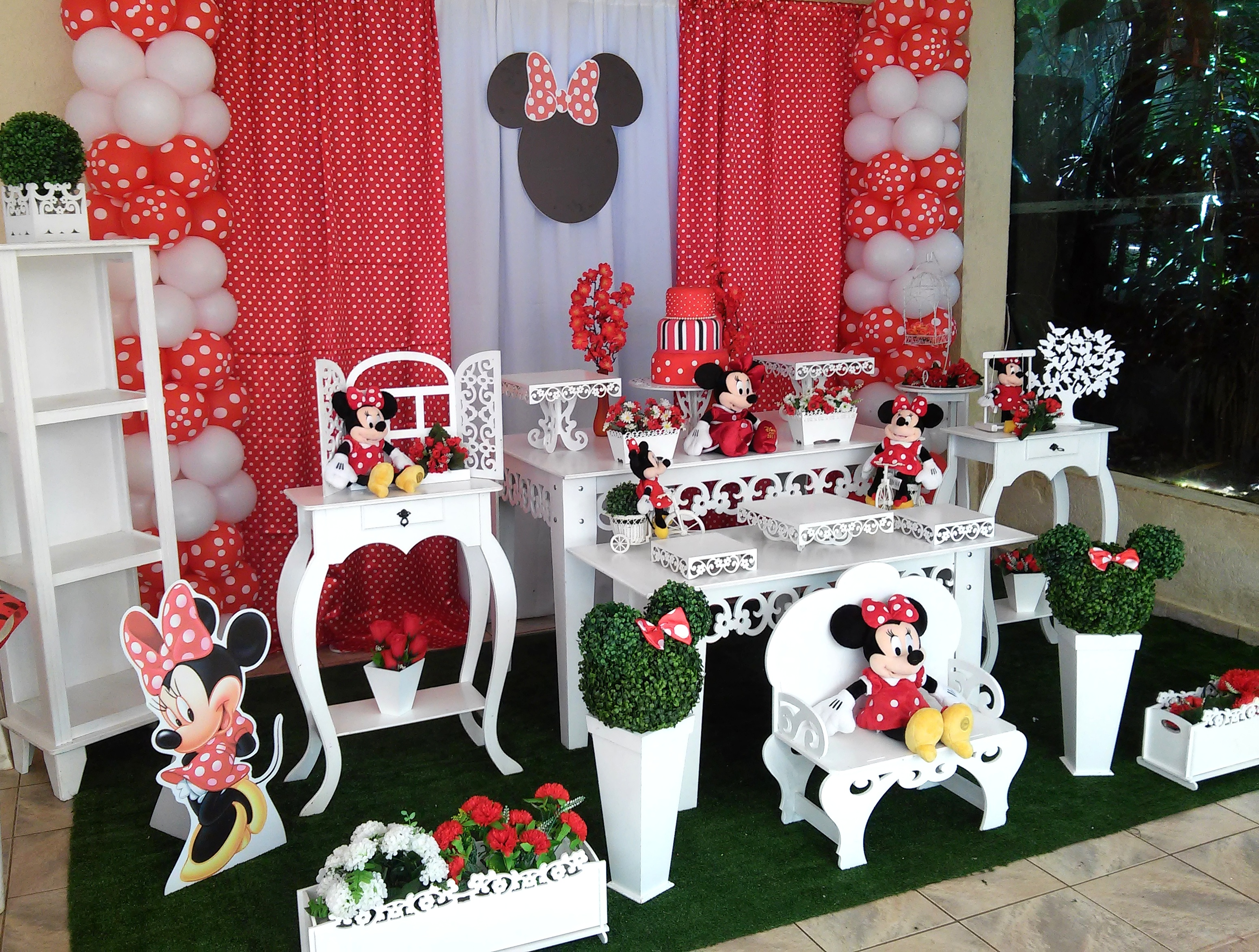 minnie decoracao provencal minnie vermelha minnie vermelha decoracao