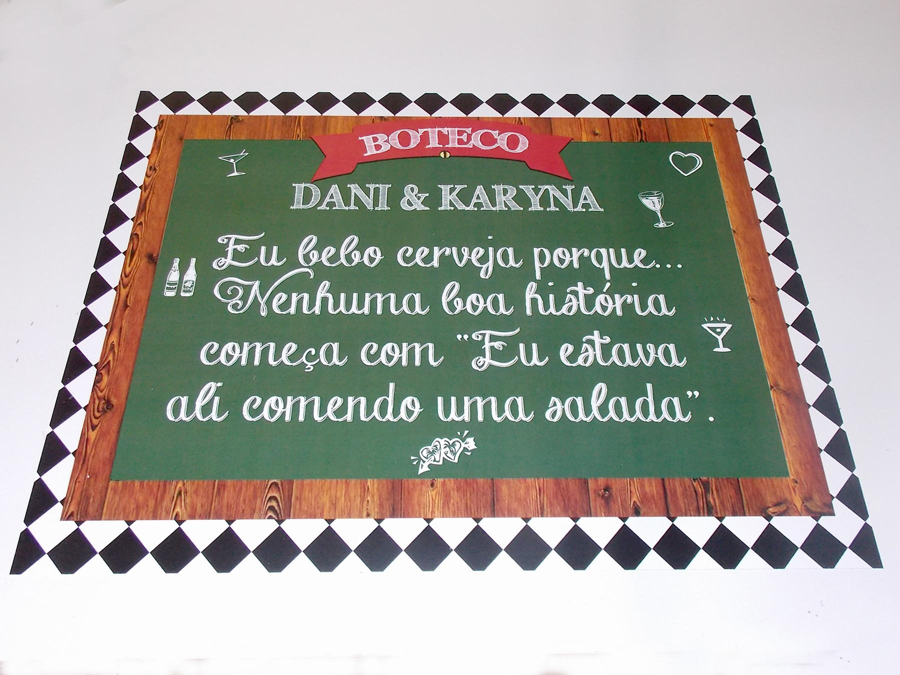 1 Pôster Com Frase De Boteco 40x31cm No Elo7 Catia Cunha Designs