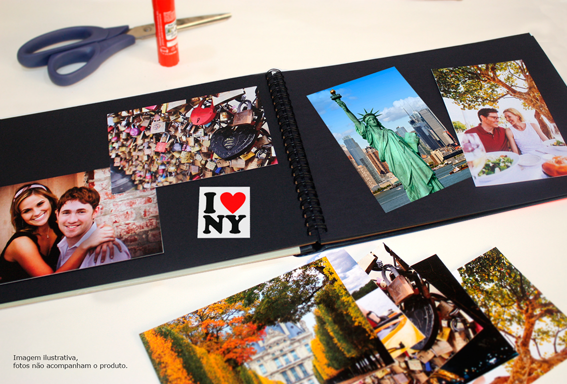 Lbum de fotos new york memories design feito m o elo7 - Album de fotos ...