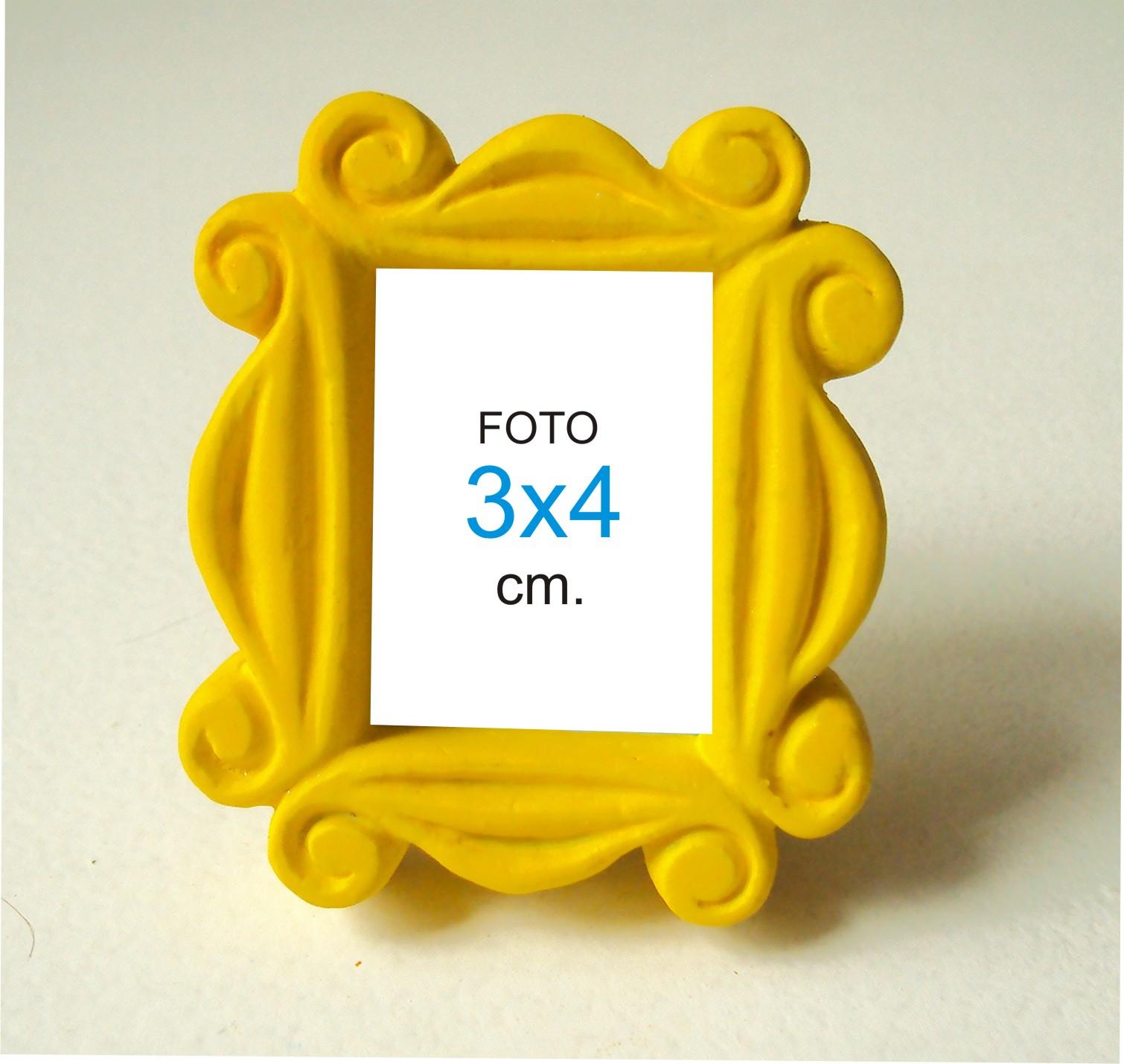 porta retrato 3 4 mini moldura friends artes resinas elo7. Black Bedroom Furniture Sets. Home Design Ideas