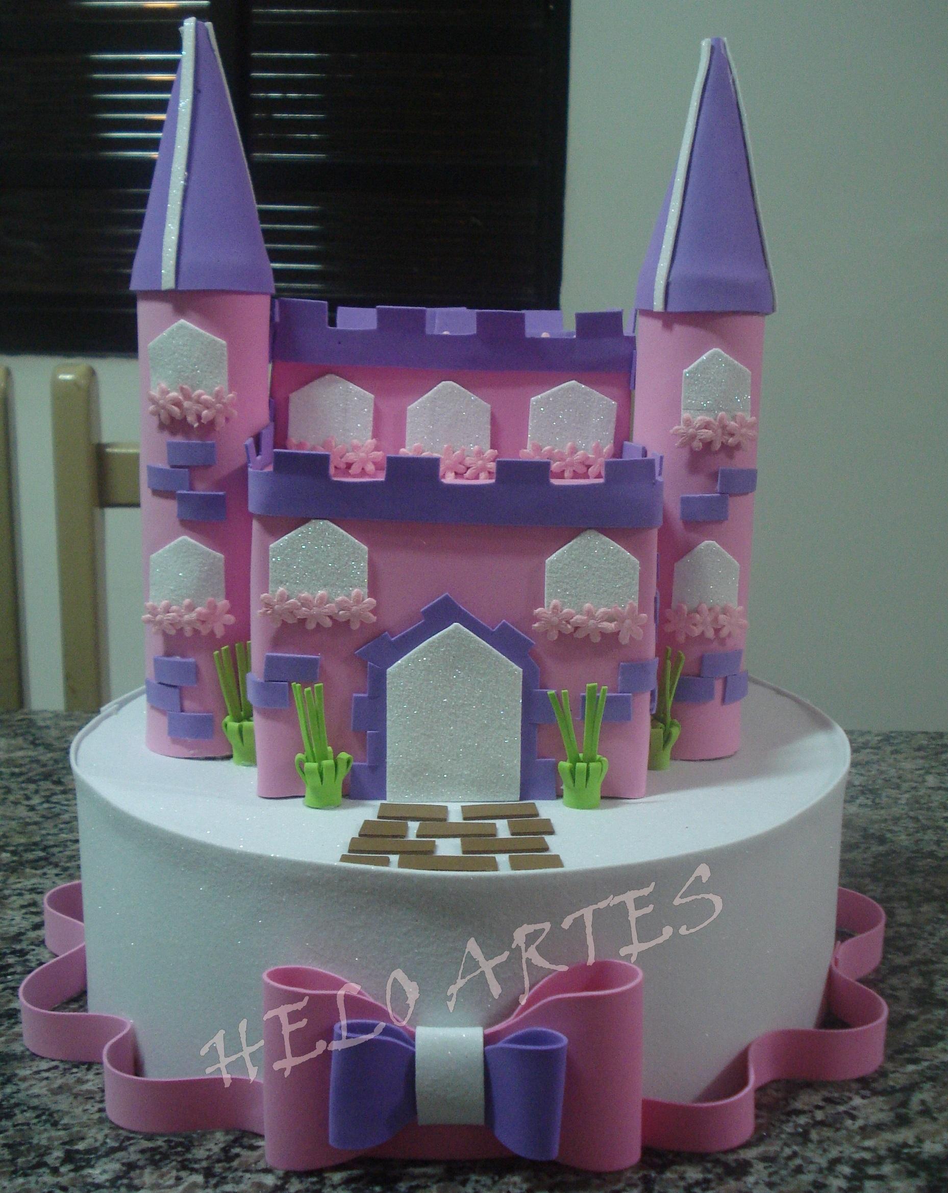 Como Fazer Castelo Em Eva Elo7