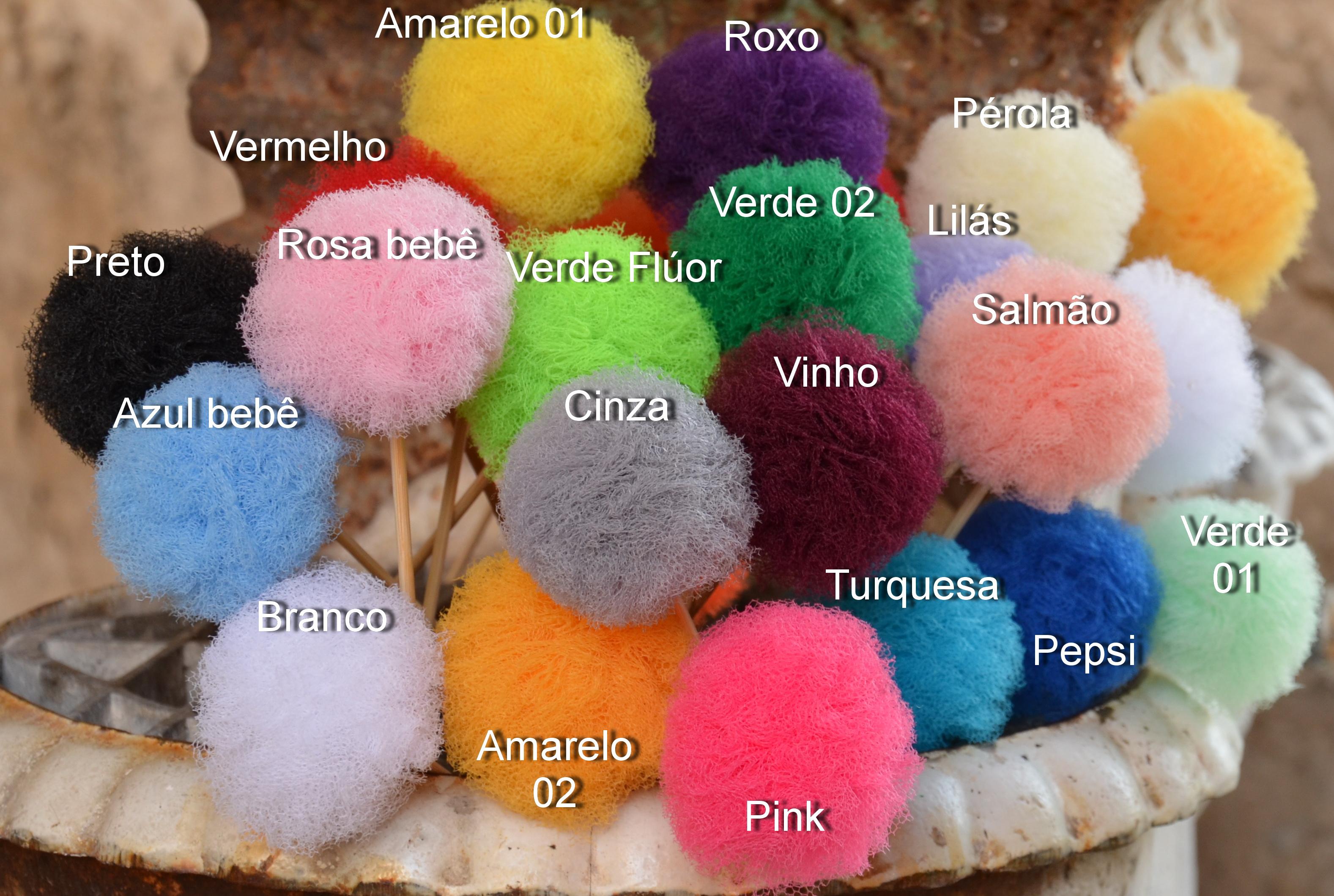 Decoração Fio de Pompom Tule Mix 10 no Elo7  0d974077cb4